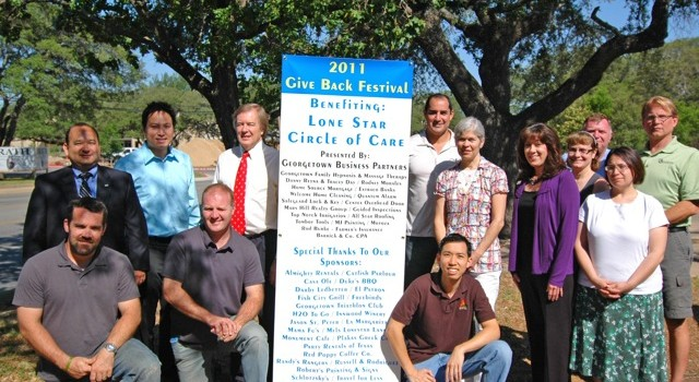 2011 Give Back Fest in Georgetown Texas