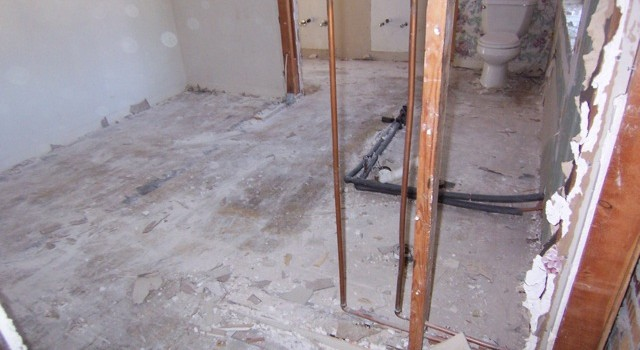 Day 4: Scrapping all the Floors – 1627 Williams Drive: Future Home of Mars Hill Realty Group