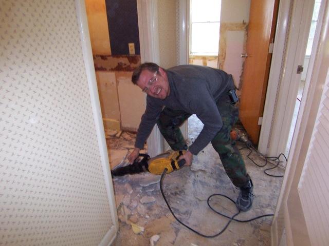Floor Scrapping